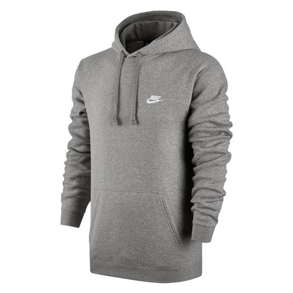 ee9cfc25d216 Nike Men s Club Fleece Pullover Hoodie